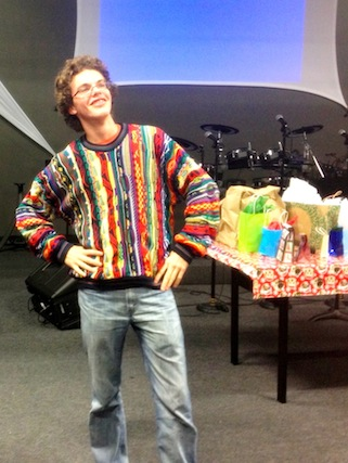 OASIS Youth Ugly Sweater Christmas Party December 2012