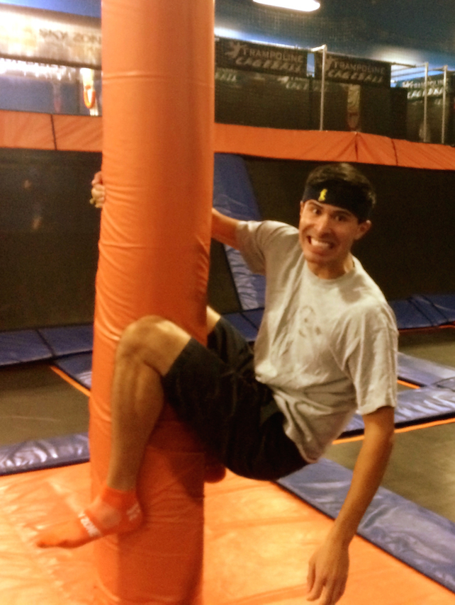 OASIS Youth Event at Skyzone September 2014